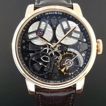 Arnold & Son TB88 Rose gold 46mm Transparent United States of America, New York, New York