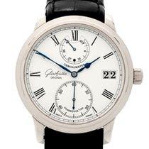 Glashütte Original Senator Chronometer 1-58-01-01-04-04 Glashutte Senatore Cronometro Oro Bianco neu