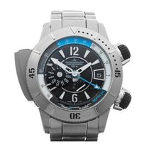 Jaeger-LeCoultre 46mm Automatic 2010 new Master Compressor Diving Pro Geographic Black