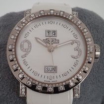 Dewitt Academia 18k White Gold and Diamond Ladies 39 mm