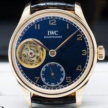 IWC IW546305 Portugieser Tourbillon Hand Wound 18K Rose Gold...