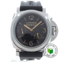 Panerai Luminor 1950 3 Days Power Reserve usado 47mm Aço