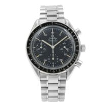 Omega Speedmaster Reduced Steel 39mm Black Arabic numerals United States of America, New York, NYC
