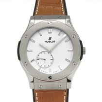Hublot Classic Fusion Ultra-Thin Titanium 45mm White United States of America, New York, New York