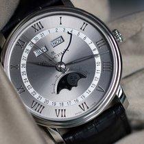 Blancpain Villeret Quantième Complet Steel 40mm Grey Roman numerals