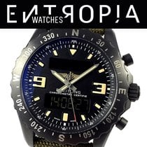 Breitling Chronospace Military Сталь 46mm Чёрный Aрабские