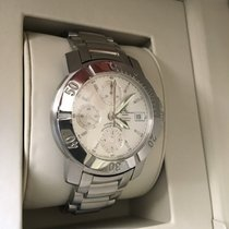 Baume & Mercier Chronograph pre-owned Capeland Silver