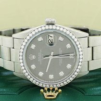 Rolex Oyster Perpetual Date Staal 34mm Grijs