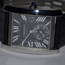 Cartier W5330004 Steel Tank MC 34mm pre-owned United States of America, New York, Greenvale