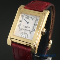 Cartier Tank (submodel) pre-owned Yellow gold