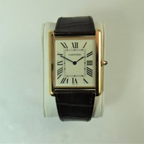 Cartier Tank Louis Cartier Rose gold 40,40mm Silver Roman numerals United States of America, Illinois, Chicago