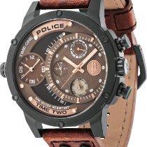 Police Steel 50mm Quartz PL14536JSB.12A new