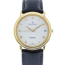 Blancpain Yellow gold Automatic White 35mm pre-owned Villeret