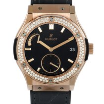 Hublot Classic Fusion 45, 42, 38, 33 mm new Manual winding Watch with original box and original papers 516.OX.1480.LR.1104