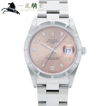 Rolex Oyster Perpetual Date new 2002 Automatic Watch with original box and original papers 15210