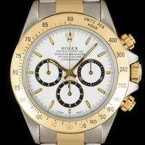 Rolex Daytona Oro/Acciaio 40mm Bianco