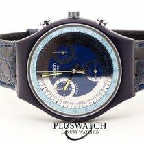 Swatch Plast 37mm Kvarts SCN102 ny