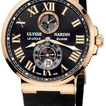 Ulysse Nardin pre-owned Automatic 43mm Black Sapphire Glass 20 ATM