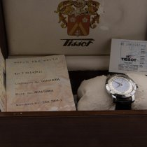 Tissot Heritage Navigator Steel Silver Arabic numerals