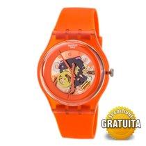 Swatch Plástico 41mm Cuarzo SUOO100 nuevo