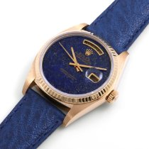 Rolex Day-Date 36 18038-Lapis-Blue-Leather 1970 gebraucht