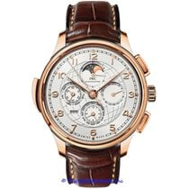 IWC Portuguese Grande Complication Rose gold 45mm Silver Arabic numerals
