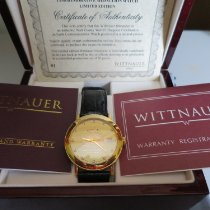 Wittnauer new Automatic Display Back Center Seconds Gemstones & Diamonds 38mm Yellow gold Sapphire crystal