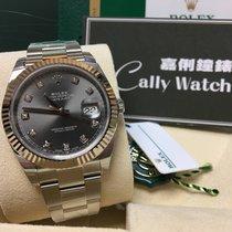 Rolex Cally - {2017 New} Datejust 41mm 126334 dark rhodium...