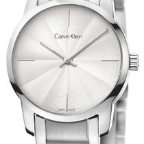 ck Calvin Klein Steel 31mm Quartz K2G23146 new