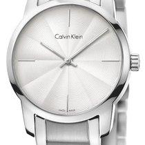 ck Calvin Klein Steel 31mm Quartz K2G23146 new