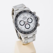 Rolex Daytona Stahl new model white dial LC 130 perfect condition