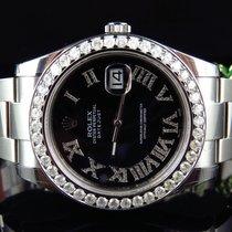 Rolex Mens New 41 MM 116300 Rolex Date Just II 2 With Roman...