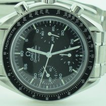 Omega Speedmaster Reduced Zeljezo 38mm Crn Bez brojeva