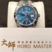 Rolex HOROMASTER-Datejust 41mm 126300 blue dial