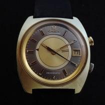 Omega Memomatic Stahl 40mm Gold