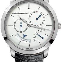 Girard Perregaux Or blanc 40mm Remontage automatique 1966 nouveau