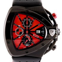 Tonino Lamborghini Steel 46.5mm Quartz 9805 pre-owned
