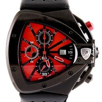 Tonino Lamborghini occasion Quartz 46.5mm Rouge