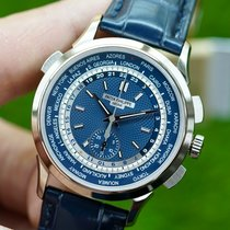 Patek Philippe World Time Chronograph new 39.5mm White gold