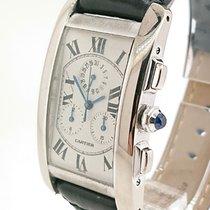 Cartier Tank Américaine White Gold Chrono Ref 2312