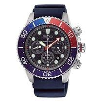 Seiko Prospex SSC663P1 SEIKO PROSPEX SEA Subacqueo Acciaio Nero Rosso Blu new