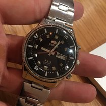 Orient 42mm Automatic 1960 pre-owned Black