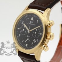IWC IW3741 Yellow gold Pilot Chronograph 36mm