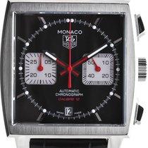 TAG Heuer Kronograf 39mm Automatika nov Monaco Calibre 12 Crn