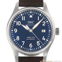 IWC Fliegeruhr Mark Stahl 40mm Blau Arabisch Deutschland, Bietigheim-Bissingen