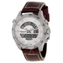 5b67cdbafe3 Hamilton Khaki Flight Timer new Quartz Chronograph Watch with original box  and original papers H64514551