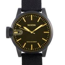 Nixon Aço 48.5mm Quartzo A127-1354-00 novo
