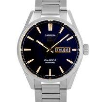 TAG Heuer Carrera Calibre 5 new Automatic Watch with original box and original papers WAR201C.BA0723