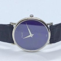 Piaget Platinum Manual winding Blue 35mm pre-owned