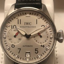 IWC Big Pilot pre-owned Silver